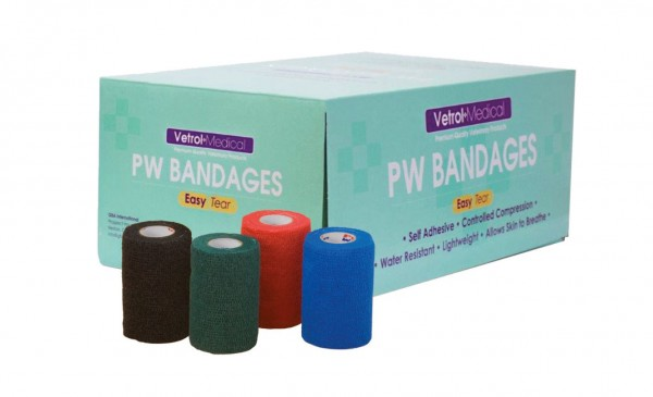 Vetrol Medical PW75 Bandagen 7,5cm x 4,5m 24/Pack